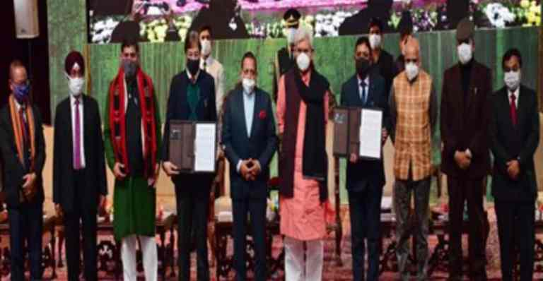 NECBDC sign MoU with J&K government on Bamboo Entrepreneurship and Bamboo Infrastructure Development