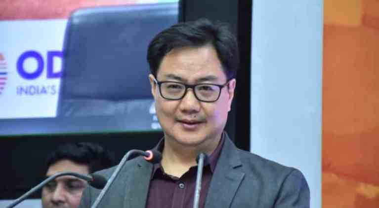 Union Minister Kiren Rijiju assigned additional charge of Ministry of AYUSH
