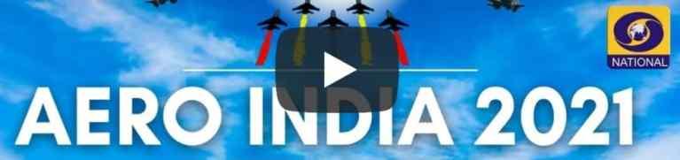Flying Display at Aero India Show 2021