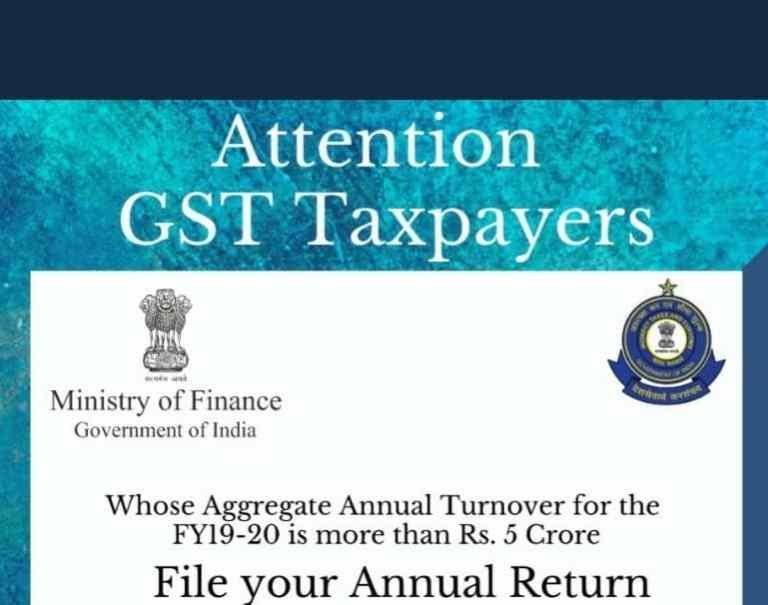 File your Annual Return along with Reconciliation statement GSTR-9C before February 28, 2021(Update)