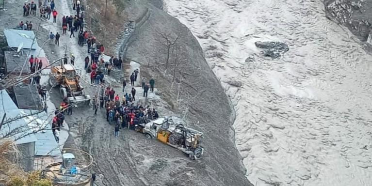 Uttrakhand: Massive flood hits Chamoli district following an avalanche