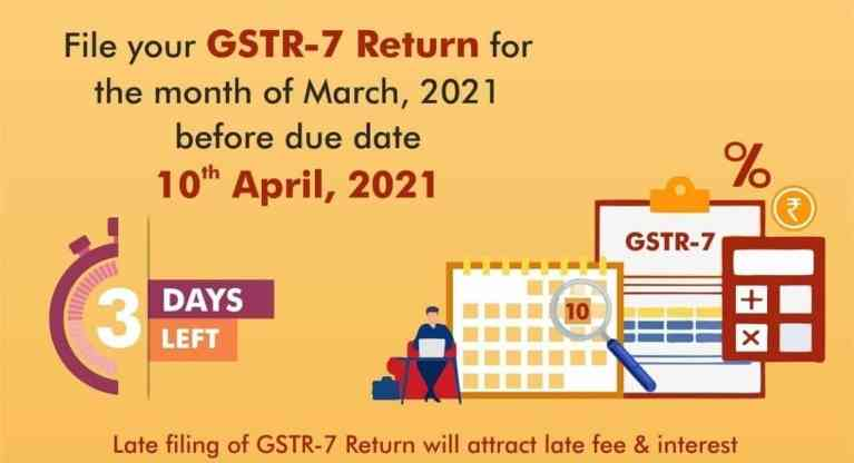 Attention GST Taxpayers who are Required to Deduct Tax at Source (TDS) under GST