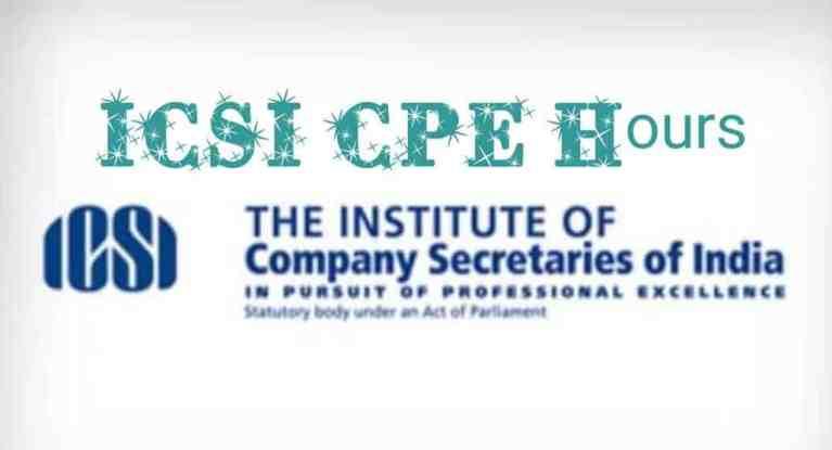 ICSI CPE Hours -FAQ's