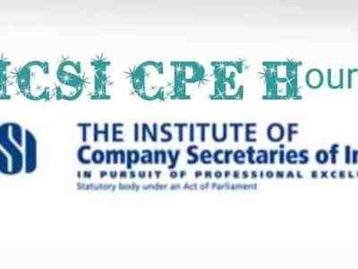 FAQ ICSI CPE Hours