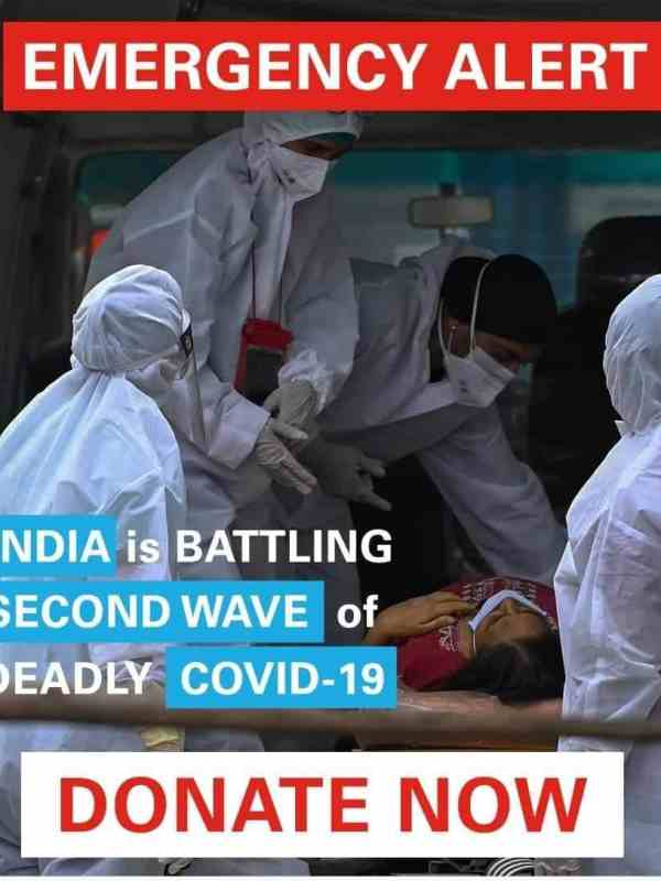 INDIA IS BATTLING SECOND WAVE OF DEADLY COVID-19