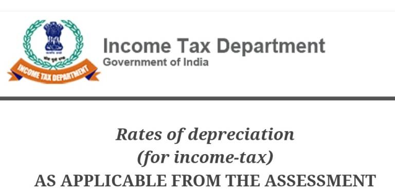 Updated Rates of Depreciation as Per Income Tax Act, 1961
