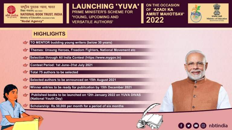 Government launches YUVA – Prime Minister's Scheme For Mentoring Young Authors
