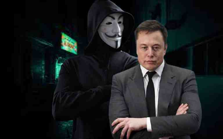"""World's Biggest Hacker Group """"Anonymous"""" Threatens Elon Musk for Crashing Bitcoin Prices"""