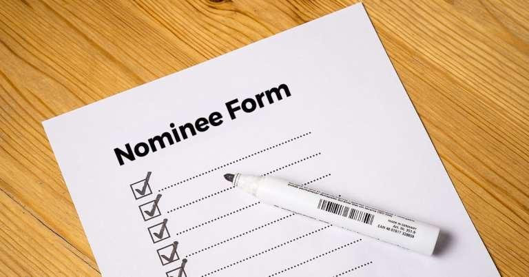 Important rules regarding nomination