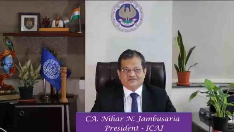 ICAI Chartered Accountants July 2021 Examinations – Message of CA. Nihar N. Jambusaria, President – ICAI