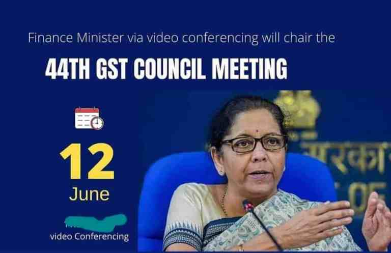 Press Briefing by Union Finance Minister Nirmala Sitharaman on the outcome of 44th GST council meet