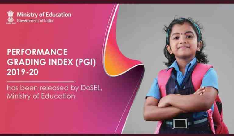 Union Education Minister approves the release of Performance Grading Index (PGI) 2019-20 for States and Union Territories