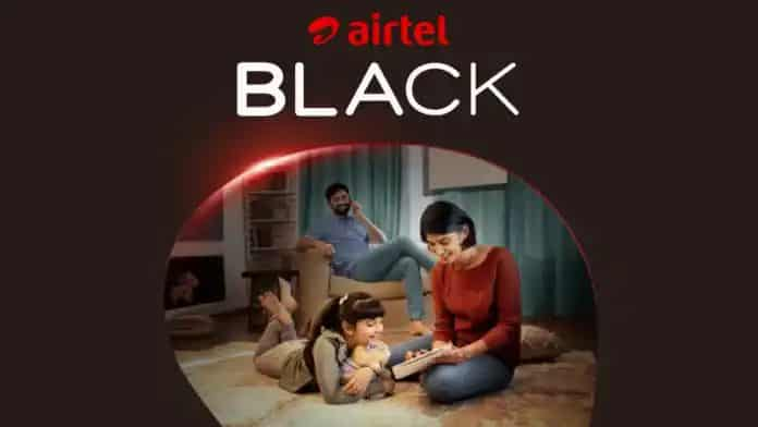 Airtel Black Launched. All in One Service