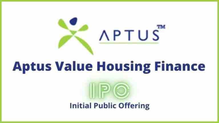 IPO open10th August and Closes on 12th August 2021 – Aptus Value Housing