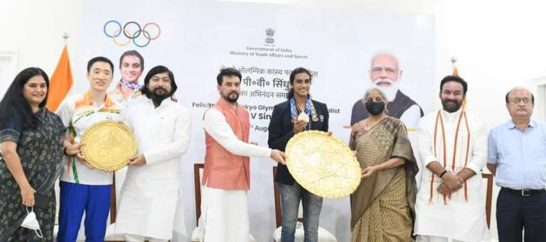 PV Sindhu You are amongst India's greatest Olympians!
