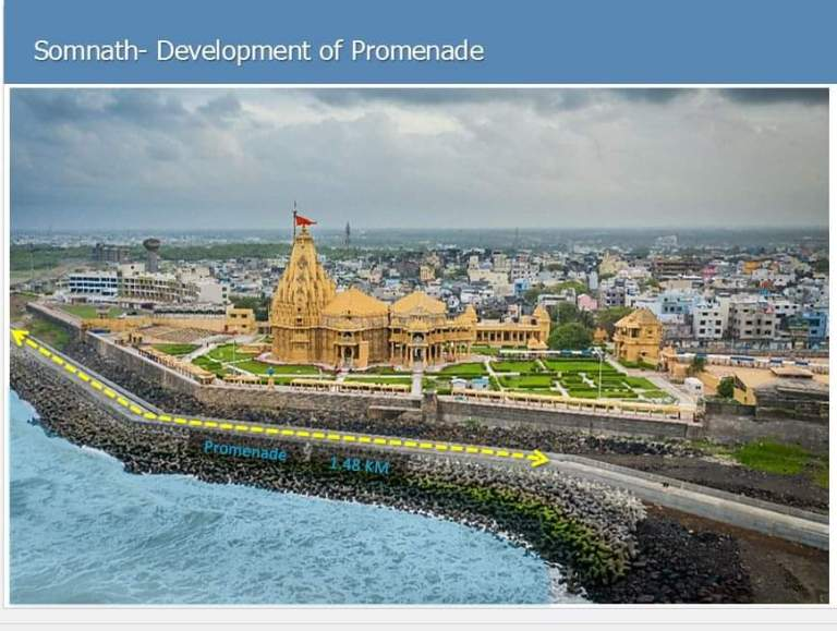 Prime Minister Narendra Modi to inaugurate Somnath Promenade in Somnath on 20th August