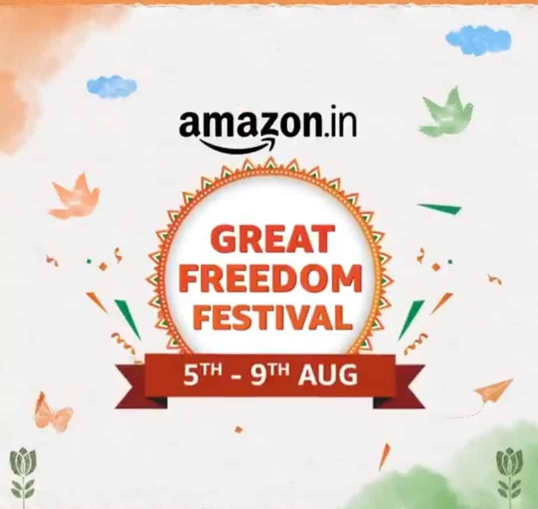 Amazon.in Great Freedom Festival Sale