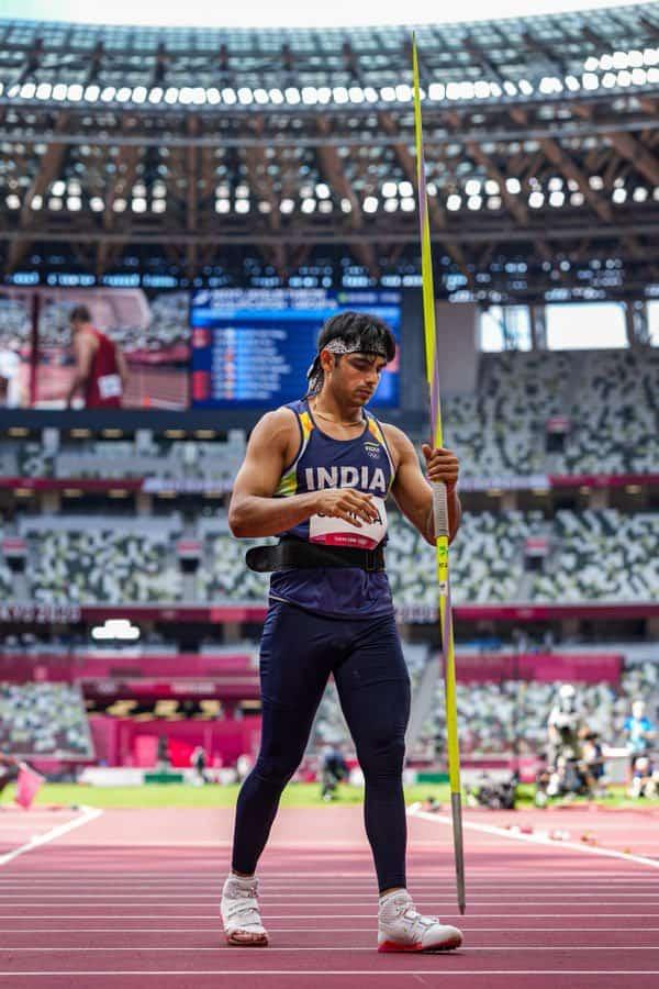 HISTORY MADE : Neeraj Chopra wins India,s First GOLD at Tokyo Olympics