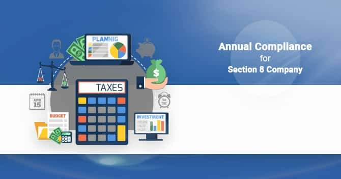 ANNUAL COMPLIANCE FOR SECTION 8 COMPANIES