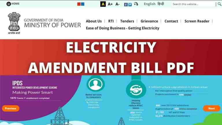 The Electricity Amendment Bill 2021 and it's impact on power distribution