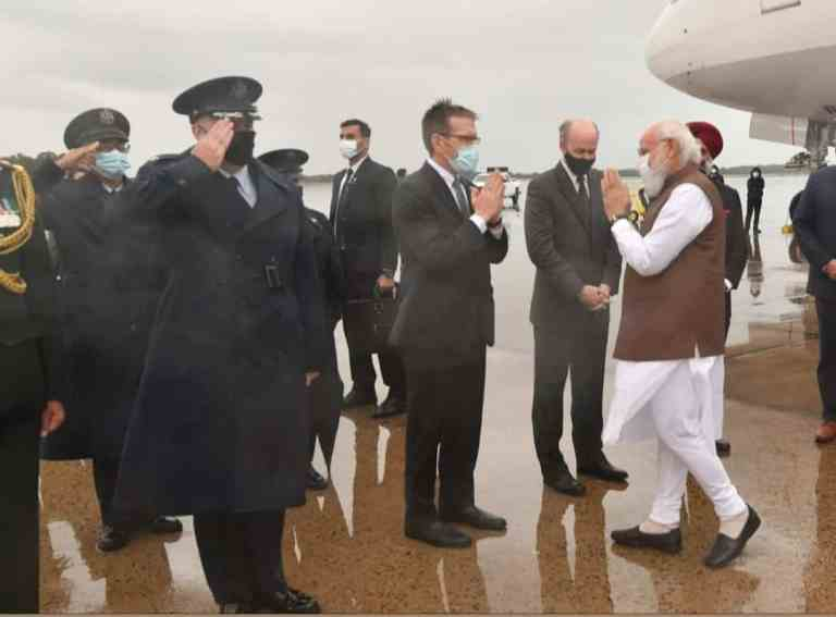 Prime Minister Narendra Modi arrived in Washington DC this morning on a four-day visit to the US