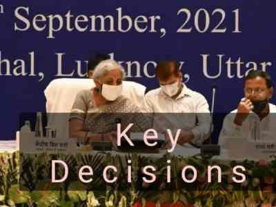 Decisions at45thGST Council Meeting – Key Highlights