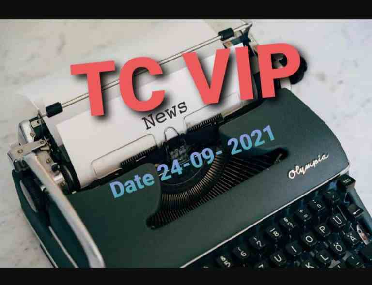 Business Concept's Daily E-News Letter- 24-09-2021 Only for TC VIP Users