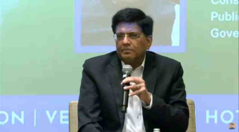 Shri Piyush Goyal Calls CA Fraternity to Work on Mission Mode for Creating Standards in Transparency