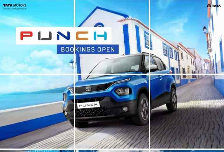 TATA PUNCH SUV Launch, Bookings and More
