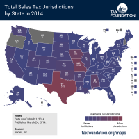 State Sales Tax Jurisdictions Approach 10,000 | Tax Foundation