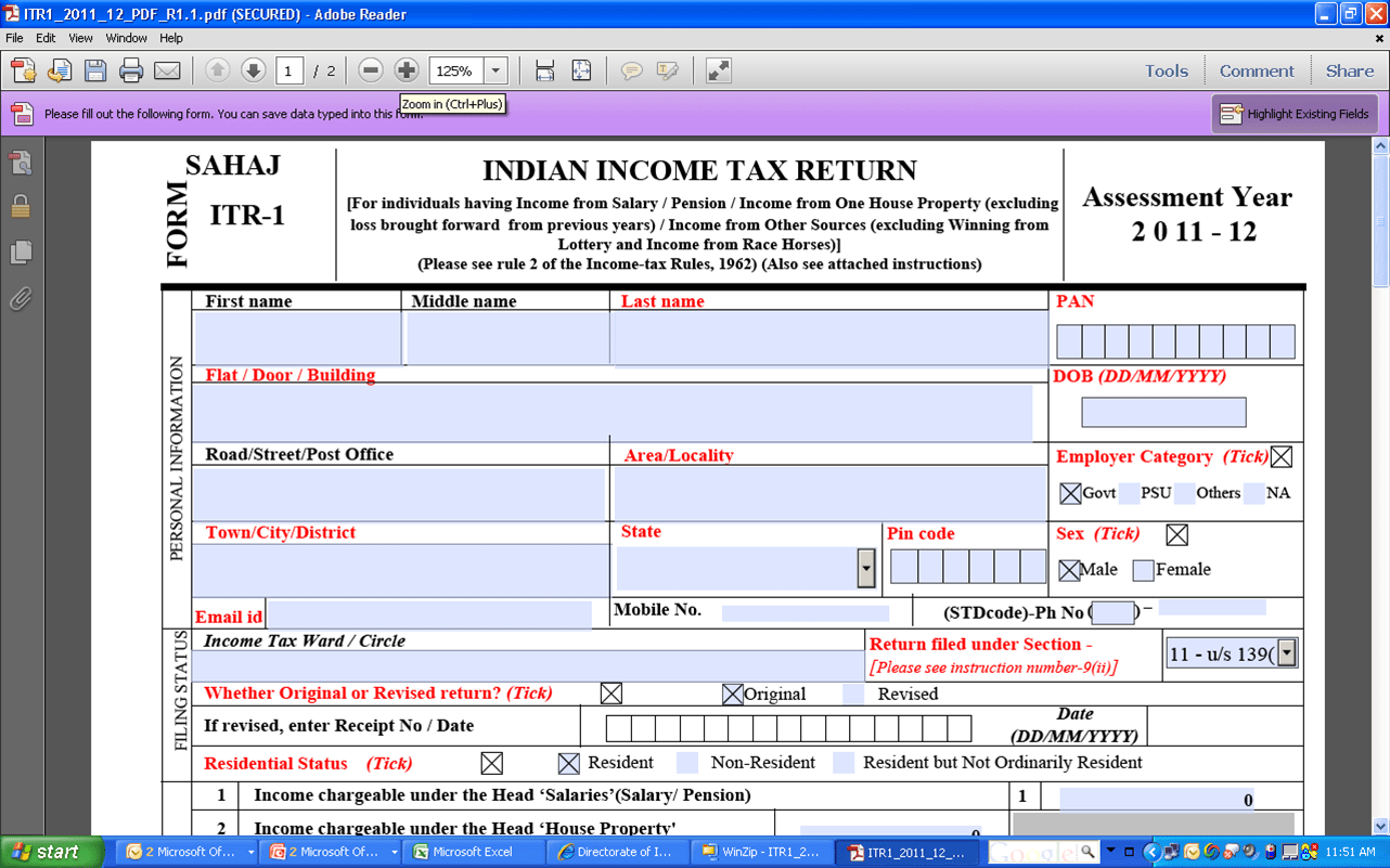 E FILING of Income Tax Return  Dos Donts  Common Errors