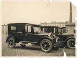 Taxibil gammla bilar