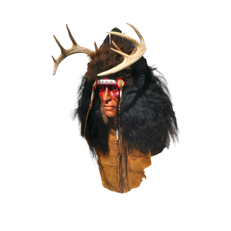 Indian Wall Art  Taxidermy Mounts for Sale and Taxidermy