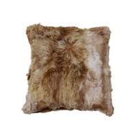 "Brown Alpaca Fur Pillow 20"" - Taxidermy Mounts for Sale ..."