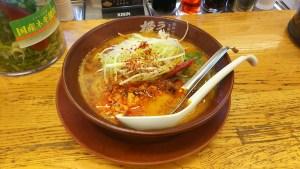 二度目のラーメン横綱の坦々麺 麻辣