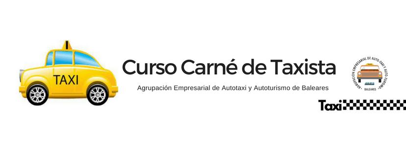 Curso de carné de Taxista de Palma