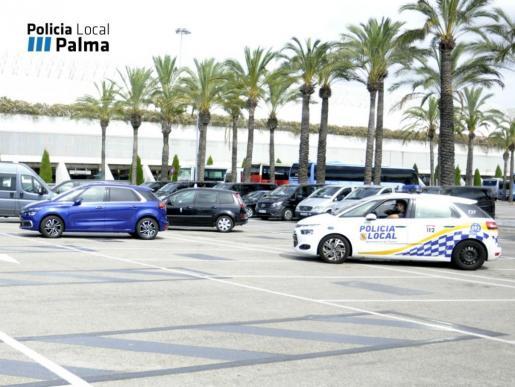Las policias de Palma y Calviá inician campaña contra Taxis pirata