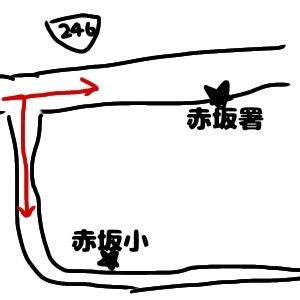 赤坂署と赤坂小