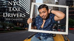 Таксисты Нью-Йорка снялись для календаря на 2020 год