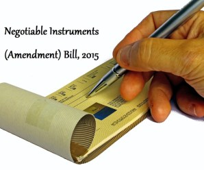 Negotiable Instruments Amendment Bill 2015 Passed