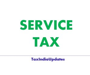Service Tax Act and Rules