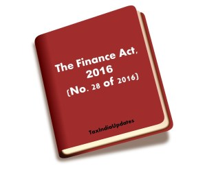Finance Act 2016 (No. 28 of 2016)