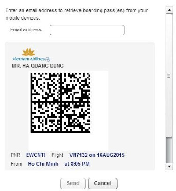 Hướng dẫn check in online Vietnam Airlines _ hinh 6