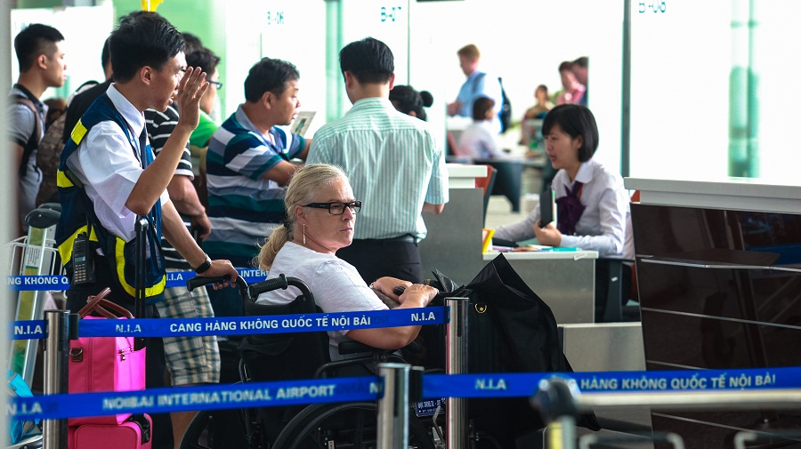 Passenger Requested for Special Assistance – Noibai airport
