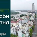 Hướng dẫn di chuyển từ Sài Gòn đi Cần Thơ