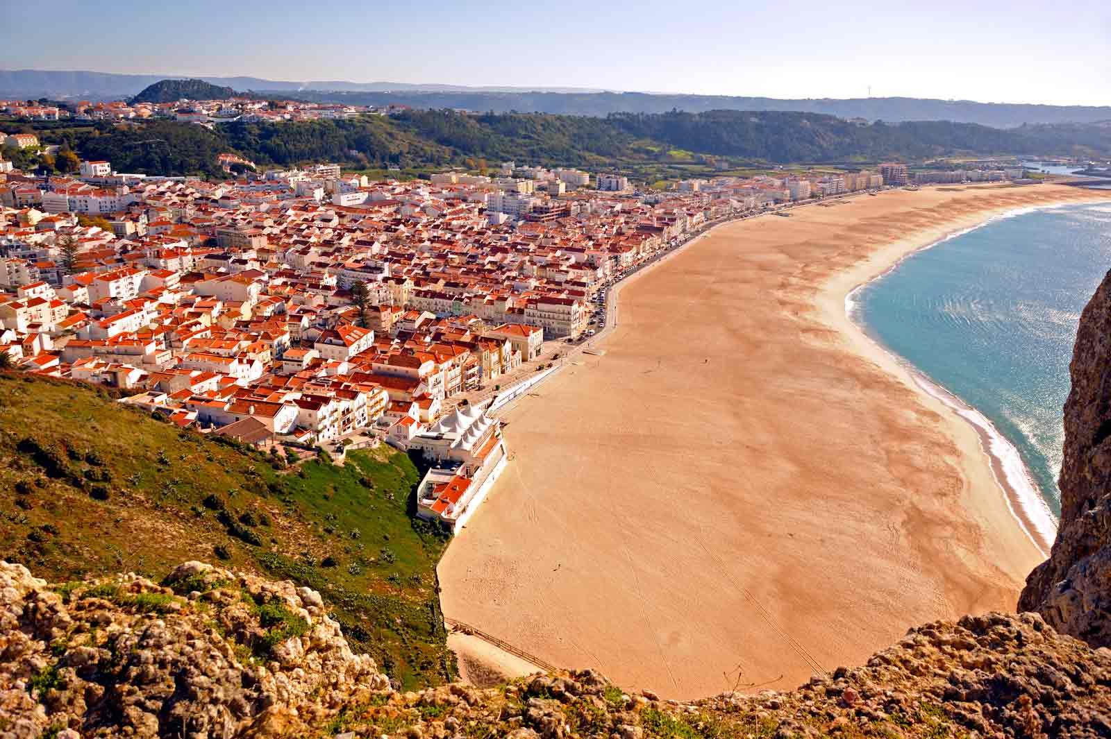 Fisherman's village of Nazaré