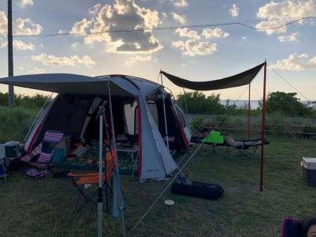 糸満市の税理士がキャンプ