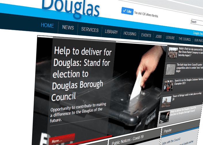 Douglas Borough Council Website