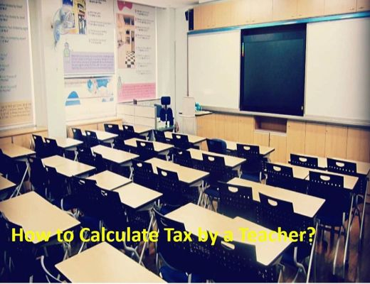 Teacher's Tax Calculation
