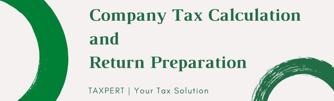 Company Tax Calculation